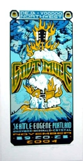 Govt Mule Deja Voodoo Tour Northwest 2004 Signed by Steve J.