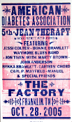 Jessi Colter Am Diabetes Assoc 2006 The Factory Hatch Show Print