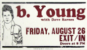 b. Young Dave Barnes Exit / In 2005 Hatch Show Print