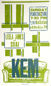 Kem Leela James Ryman Aud 2006 Hatch Show Print