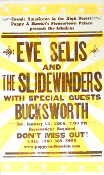 Eve Selis and The Slidewinders 2006 Hatch Show Print