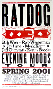Ratdog Evening  Moods Tour 2001 Hatch Show Print