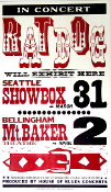 Ratdog 2002 Seattle - Bellingham Hatch Show Print