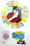 Brian Wilson 2004 Smile poster - program - pass Special Package