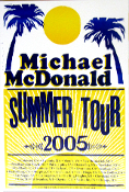 Michael McDonald Summer Tour 2005 Hatch Show Print