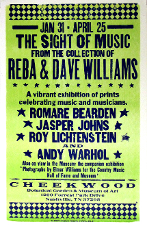 The Sights Of Music 2004 Cheekwood Nashville Hatch Show Print