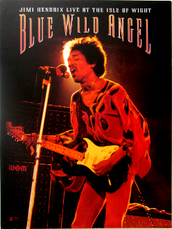 Jimi Hendrix Blue Wild Angel Movie poster