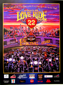 Love Ride 22 Poster 2005 Glendale BB King Jack Mack