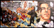 Robert Williams Oscar Wilde In Leadville 1990 signed