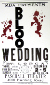 Blood Wedding Paschall Theater 2004 Hatch Show Print