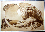 Head Shop poster sepia print large pin holes