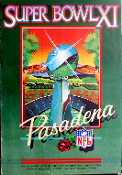 Super Bowl XI Pasadena 1977 large (read condition)