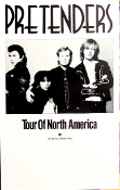 Pretenders Tour Of North America blank