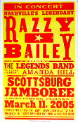 Razzy Bailey 2004 Scottsburg Jamboree Hatch Show Print