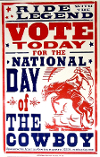 National Day Of The Cowboy Vote Today 2005 HSP