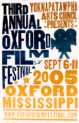 Oxford Film Festival MS 2005 Hatch Show Print