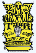 Flamin' Groovies Nov 2015 Tour Poster Art work by Cyril Jordan