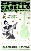 Chris Casello & The Starlight Drifters 2005 Tour Blank Hatch