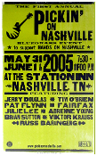 Pickin' On Nashville 1st Annual 2005 Hatch Show Print