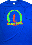 Frank Zappa T-Shirt (Brand New) 50/50 size 2XL - blue only