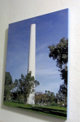 Cowell Smokestack #1(color) 16x20 canvas Giclee Wall Hanging
