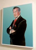 Vincent Price Portrait By Cyril Jordan Canvas Giclee