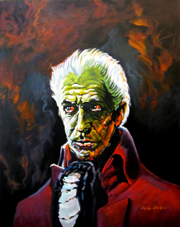 Vincent Price House Of Ushers Cyril Jordan tribute print