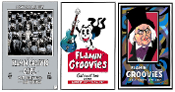 Flamin' Groovies 2017 Tour Set - 3 - 13x19(inch) posters