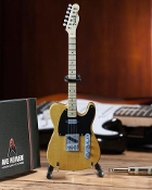 Fender Tele Butterscotch cardboard case and std