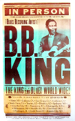 BB King NA Tour 2005 Hatch Show Print near mint