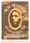 - Boz Scaggs 1973 Rheem Theater Stoneground 13x19 digital