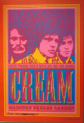 Cream 2005 Madison SQ Garden John Van Hamersveld signed