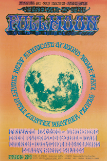(07) Country Weather * Festival Of The Full Moon 1969 Art Print