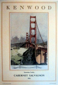 Kenwood Vineyards Artist Series 1981 GG Bridge