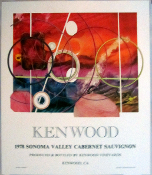Kenwood Vineyards 1978 Artist Series Charles MIngus