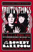 White Stripes-Bowery Ballroom-screenprint