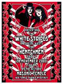 White Stripes Masonic Temple 2003 poster/handbill set